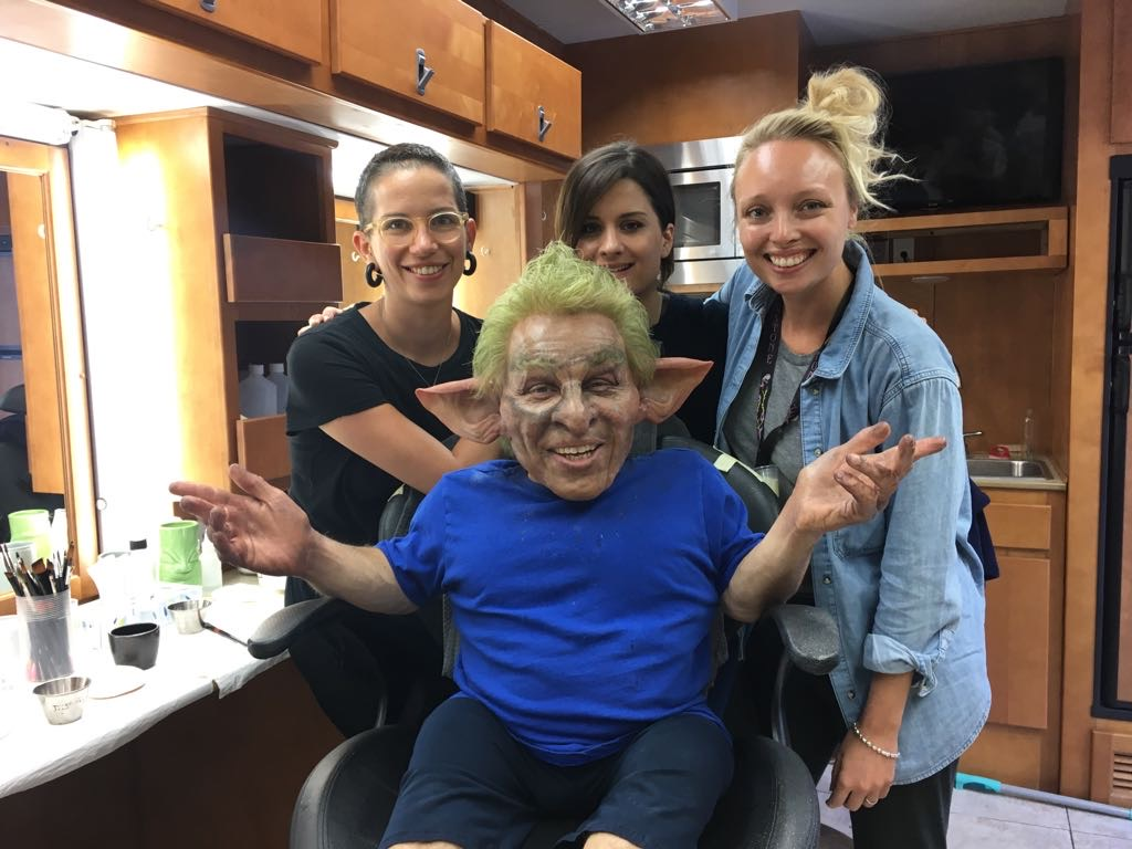 'Maleficent 2' Makeup Application with Amie Aspden and Victoria Holt