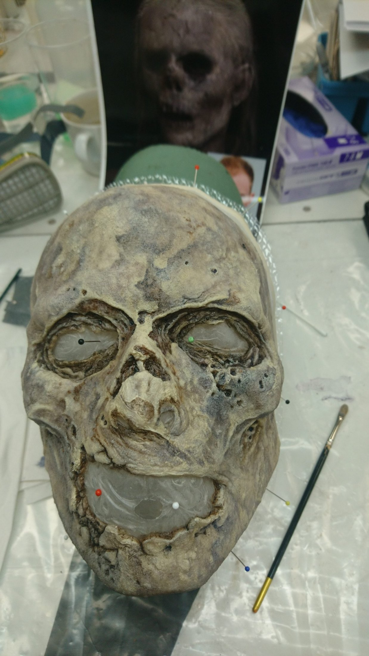 Prosthetic Pre-Painting