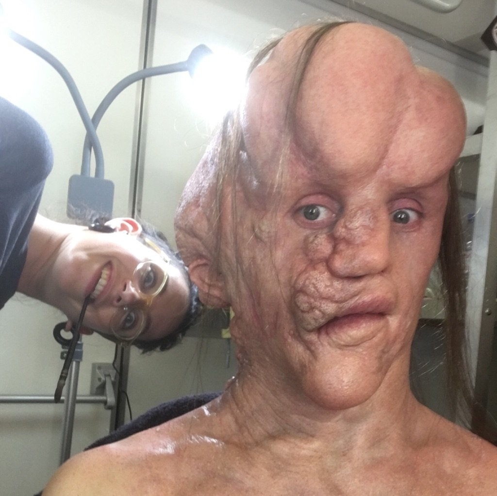 Test Makeup Application with Rob Mayor