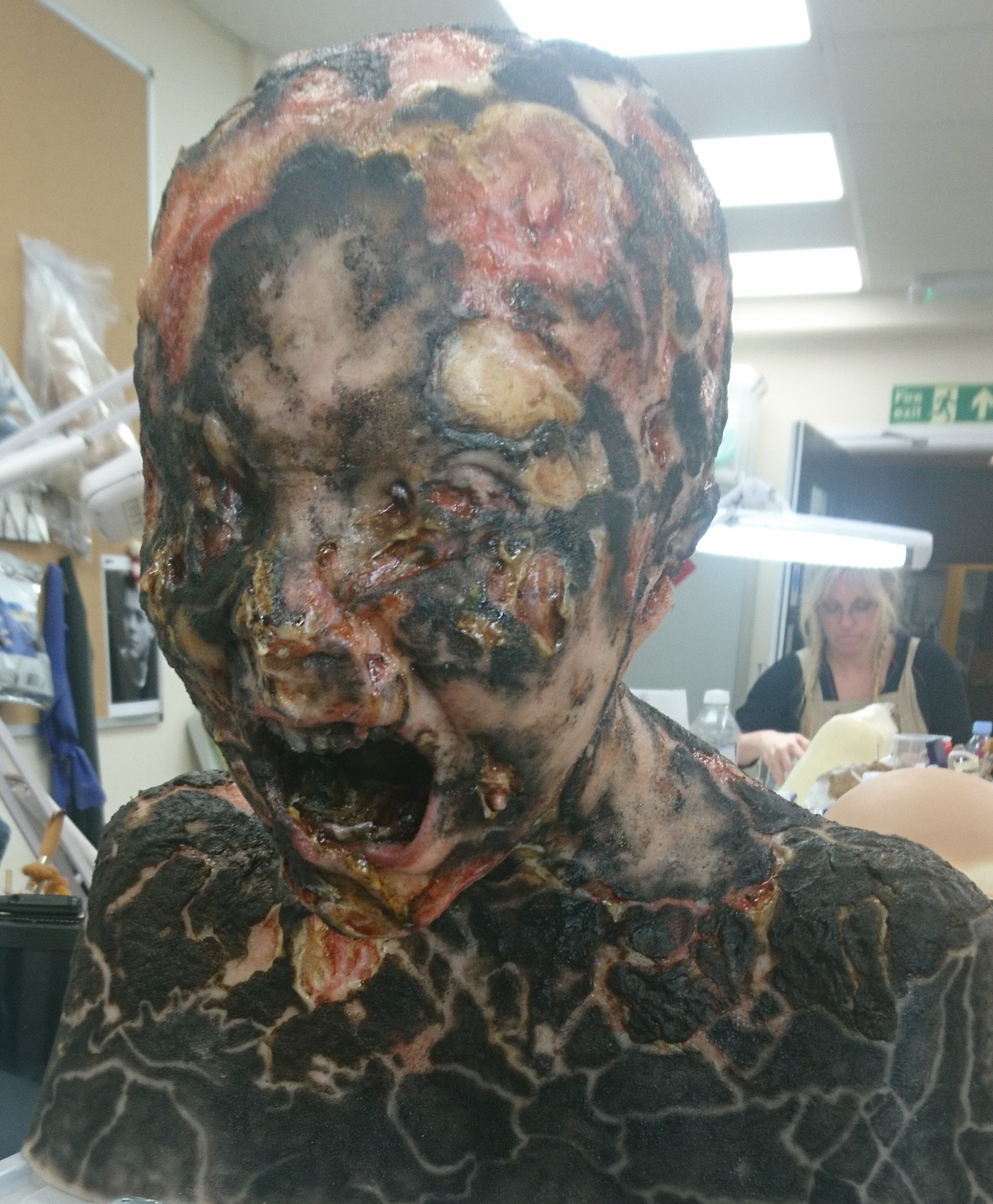 Silicone Fabrication and Painting