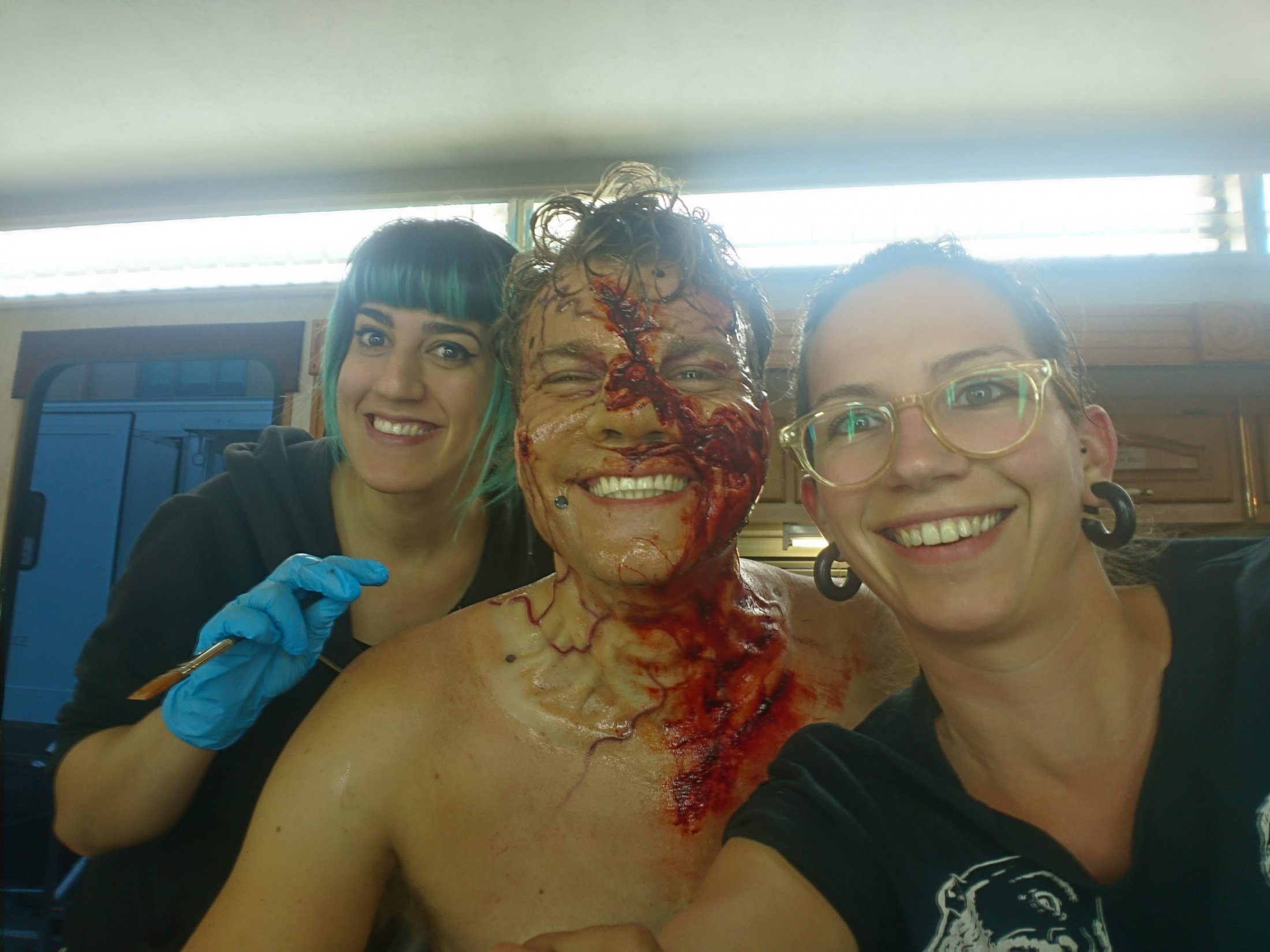'Overlord' Makeup Application with Raquel Munuera Sànchez