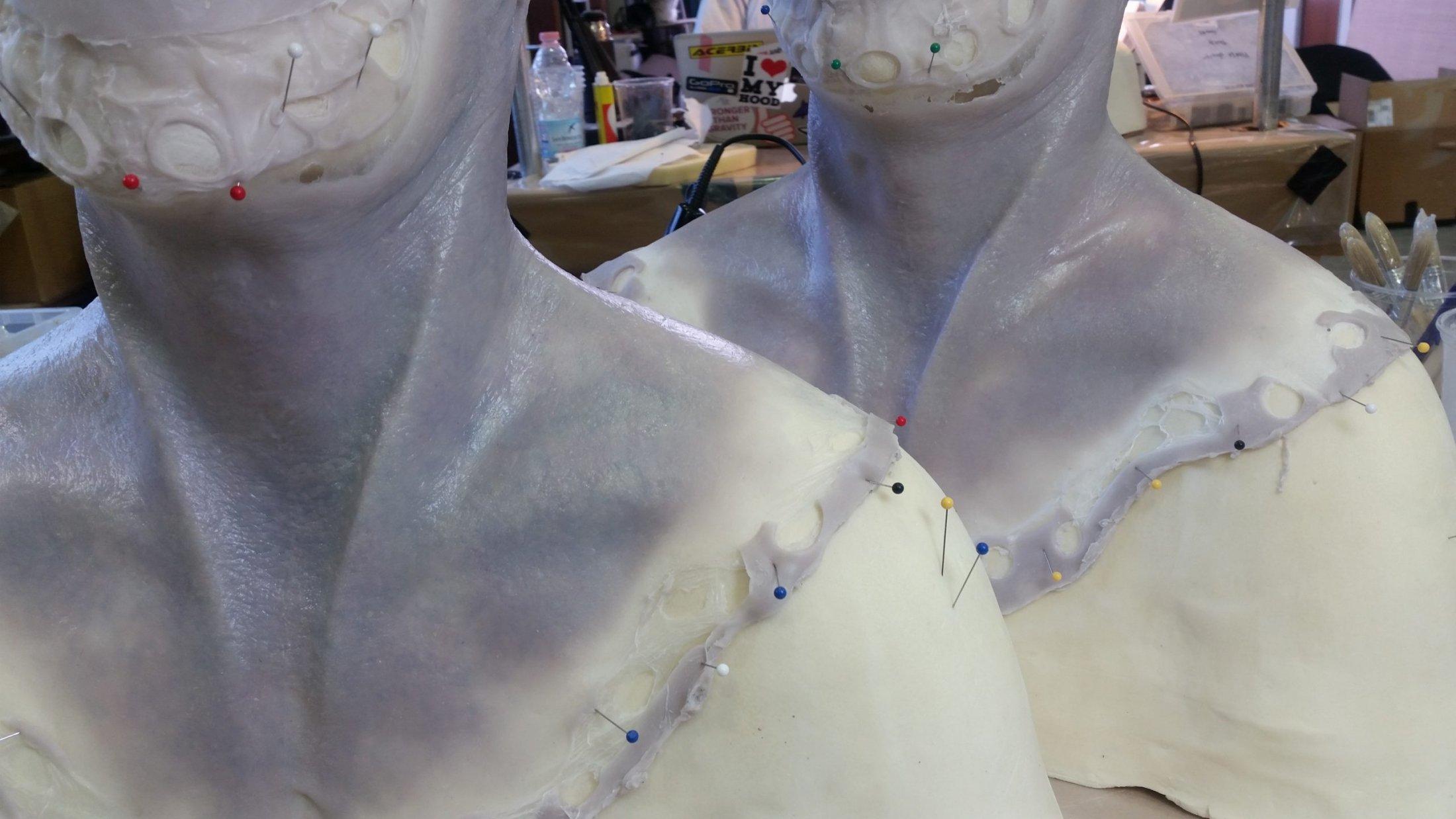 'The Titan' Prosthetic Pre-Painting