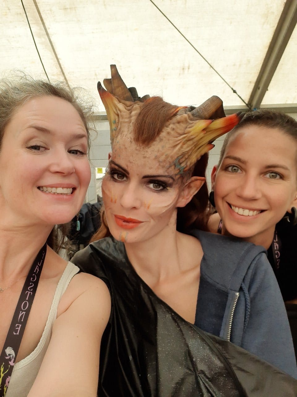 'Maleficent 2' Makeup Application with Jo Grover