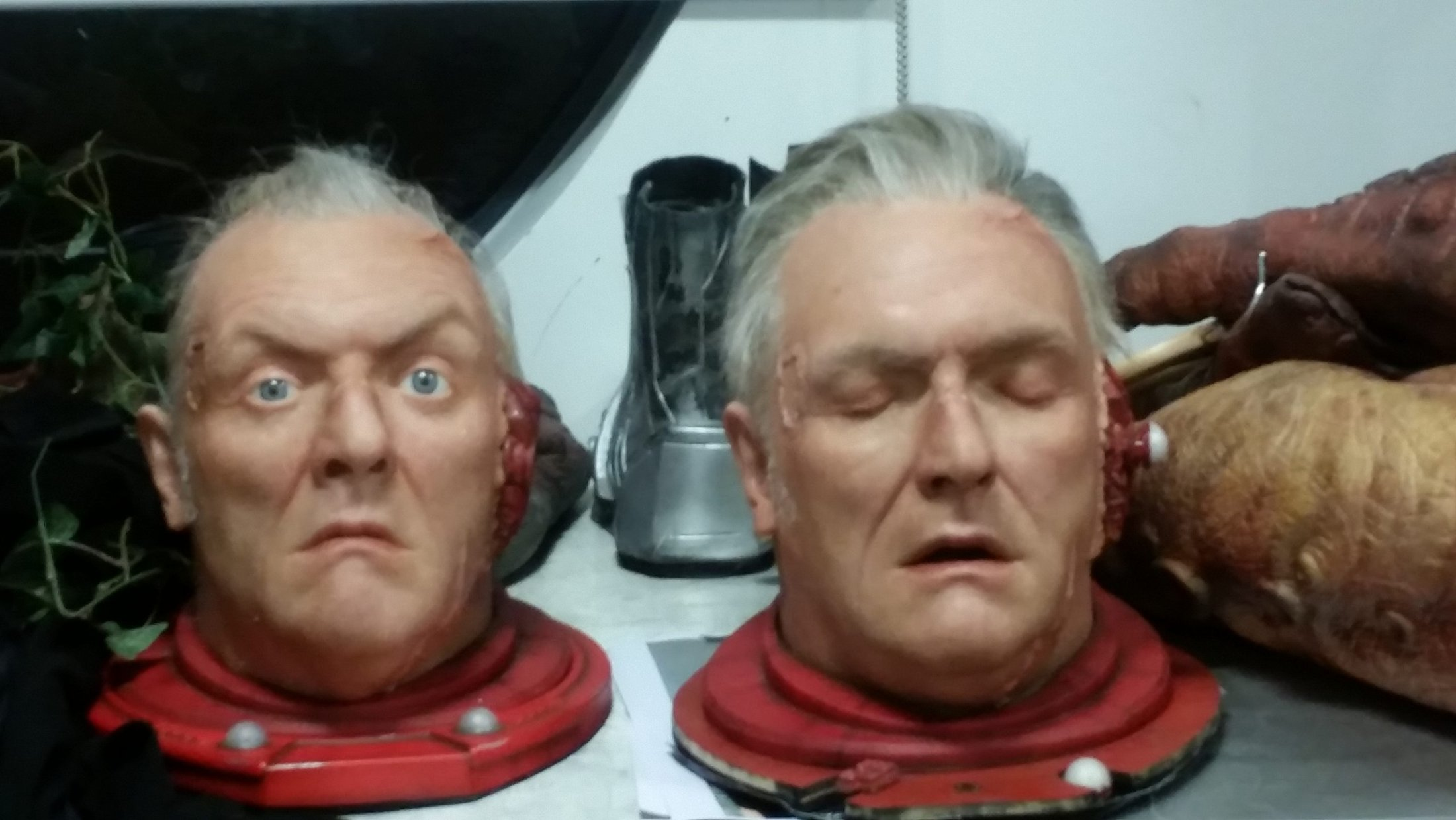 'Doctor Who' Re-Sculpting, Moulding, Running, Painting and Hair Work