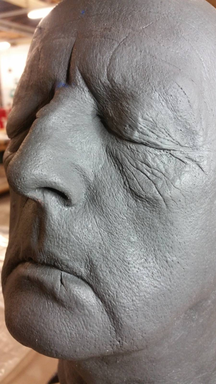 Re-Sculpting from Life Cast