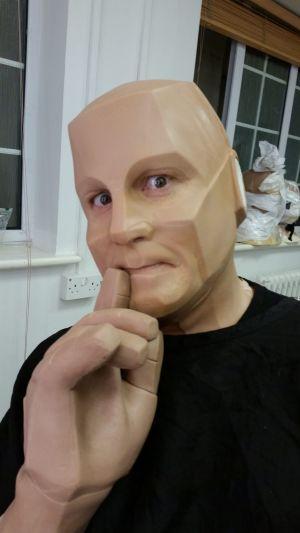 'Red Dwarf' Makeup Application for Millennium FX
