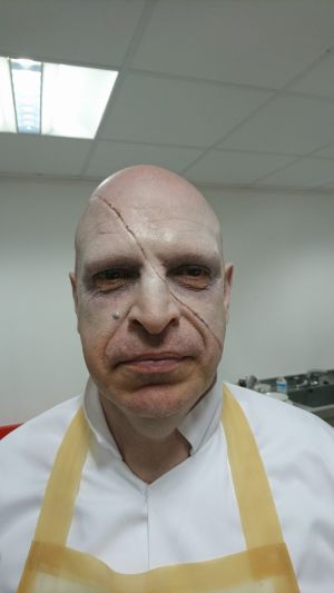 'Doctor Who' Makeup Application